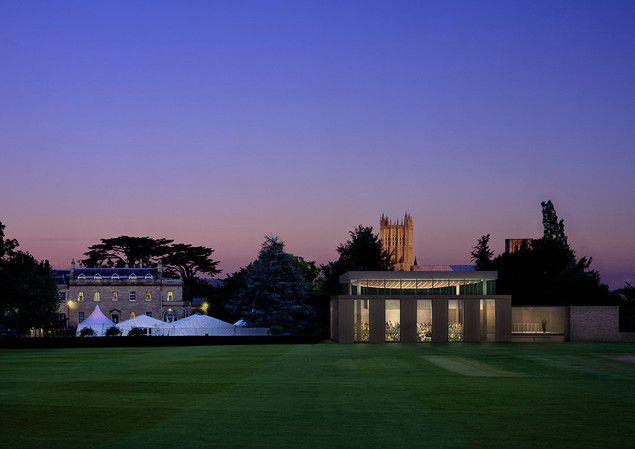 Ceadrs Hall, Wells Cathedral Music School..
