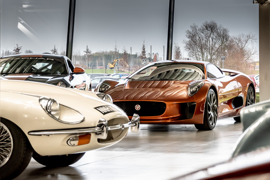 Jaguar E-Type & C-X75
