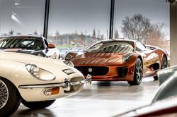 Jaguar E-Type & C-X75