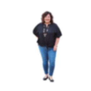 Black Shirt and Jeans Standing Transpare