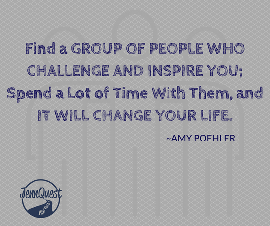 Who is Challenging and Inspiring You?
