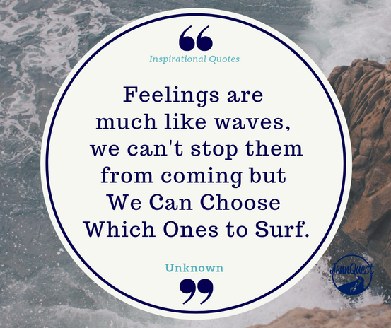 Choose Which Feelings YOU Will Surf