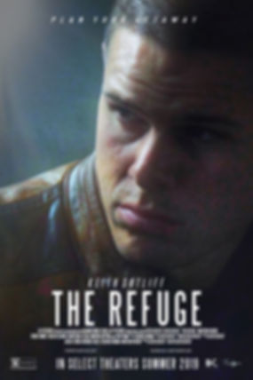 Face The Refuge poster Fede did with bil