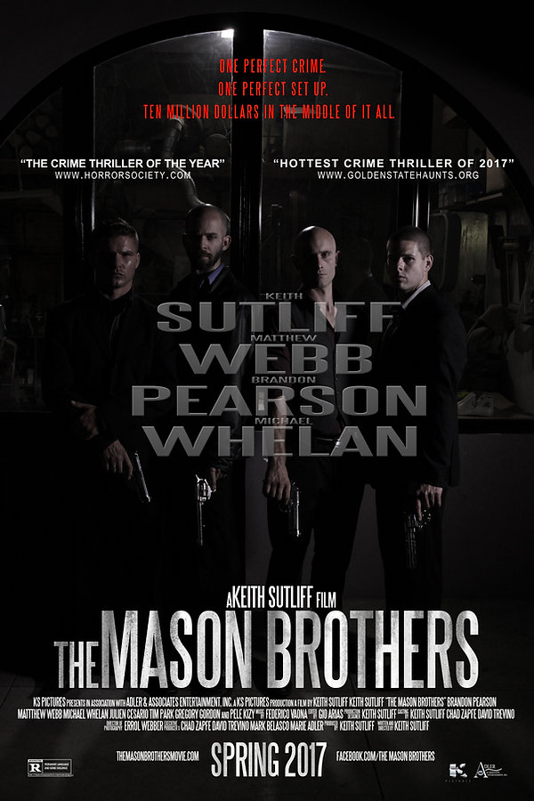 The Mason Brothers Main Poster Final Egy