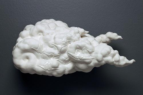 Maile Iwanaga porcelain clowd