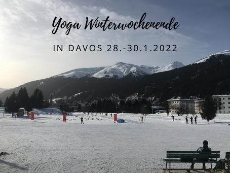 Yoga Winterwochenende in Davos, 28. – 30. Januar 2022