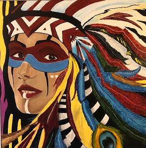 So., 15.November 2020 ab 16.00 Uhr Finissage «Indianerwelten Bilder und Skulpturen»