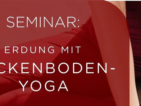 Erdung mit Beckenboden-Yoga 03.-05.Sept.2021