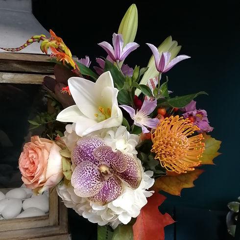 Bouquet original, fleurs de qualité