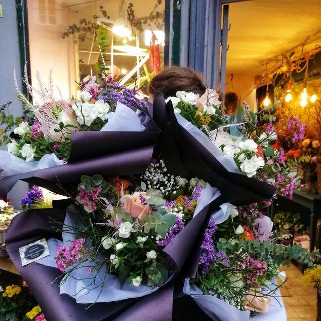 Brassée de bouquets