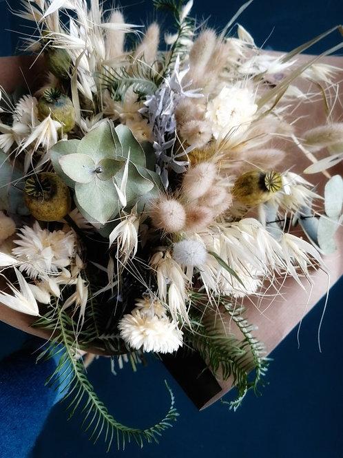 Bouquet de fleurs séchées, à partir de