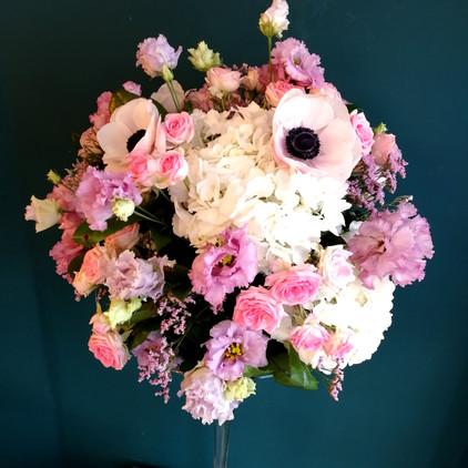 Composition florale boule