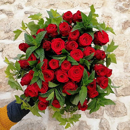 Bouquet Folle passion, commande spéciale, à partir de
