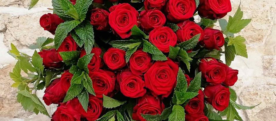 """Saint Valentin : Le rendez-vous officiel des """"flowerlovers"""""""