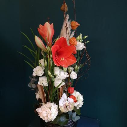 Composition de fleurs pour entreprise