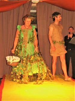 Création robe d' Eden