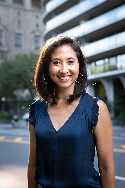 Kimiko Ebata in New York City