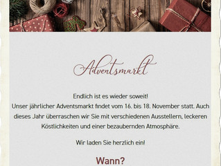 Jäger meet´s Höpker! Einladung zum Adventsbasar bei Cafe Höpker