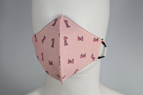 K Pink Bow - bambini