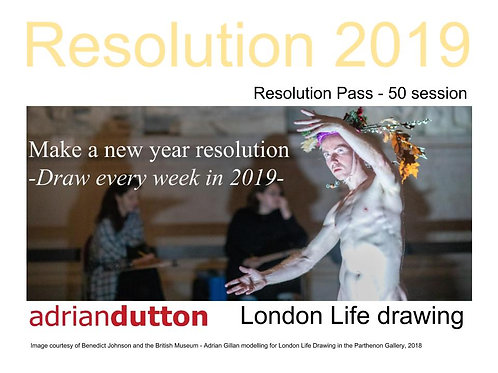 Resolution Pass - 50 Sessions