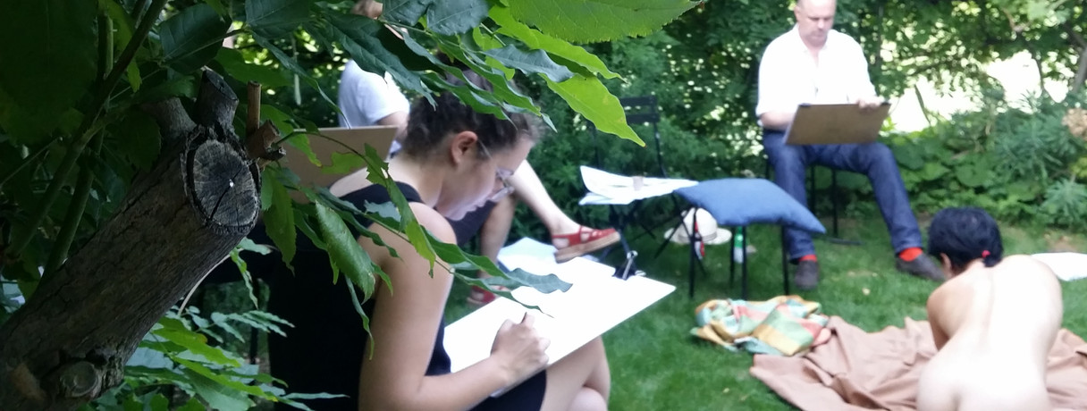 outdoor drawign with Pollard Thomas Edwards Architects
