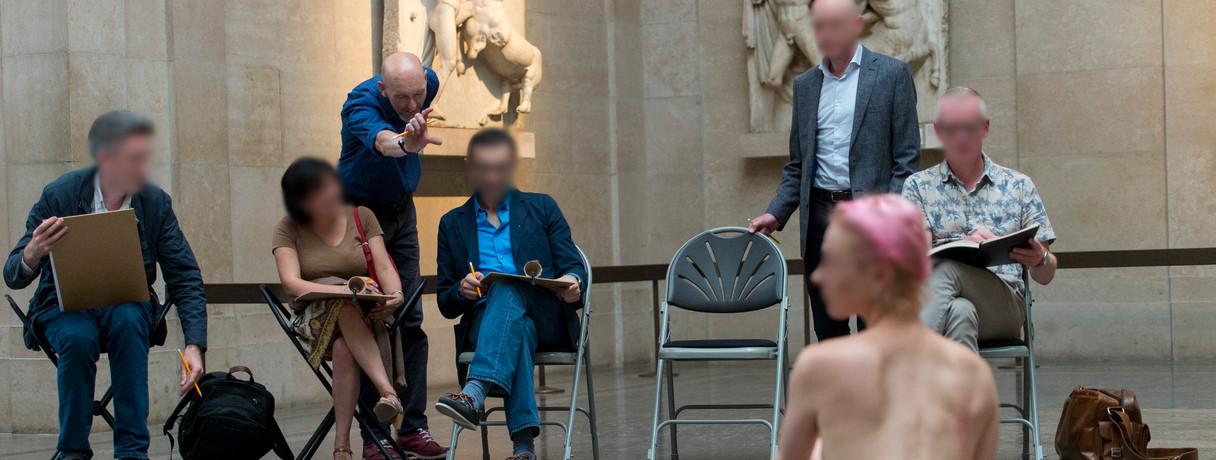 British museum members event - Parthenon Galleries