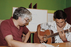 Arman Mosavi, a former student in our music classes