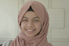 """Zahara - Age 16 """"I want to be a journalist to share my story with the world."""""""