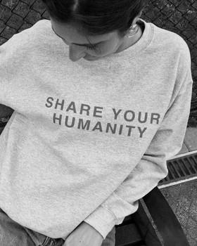 Share Your Humanity Crewneck