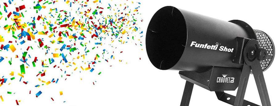 Confetti Cannon | $25/day