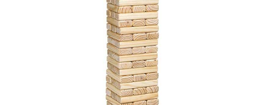 Tumbling Tower (Jenga XL) | $5/day
