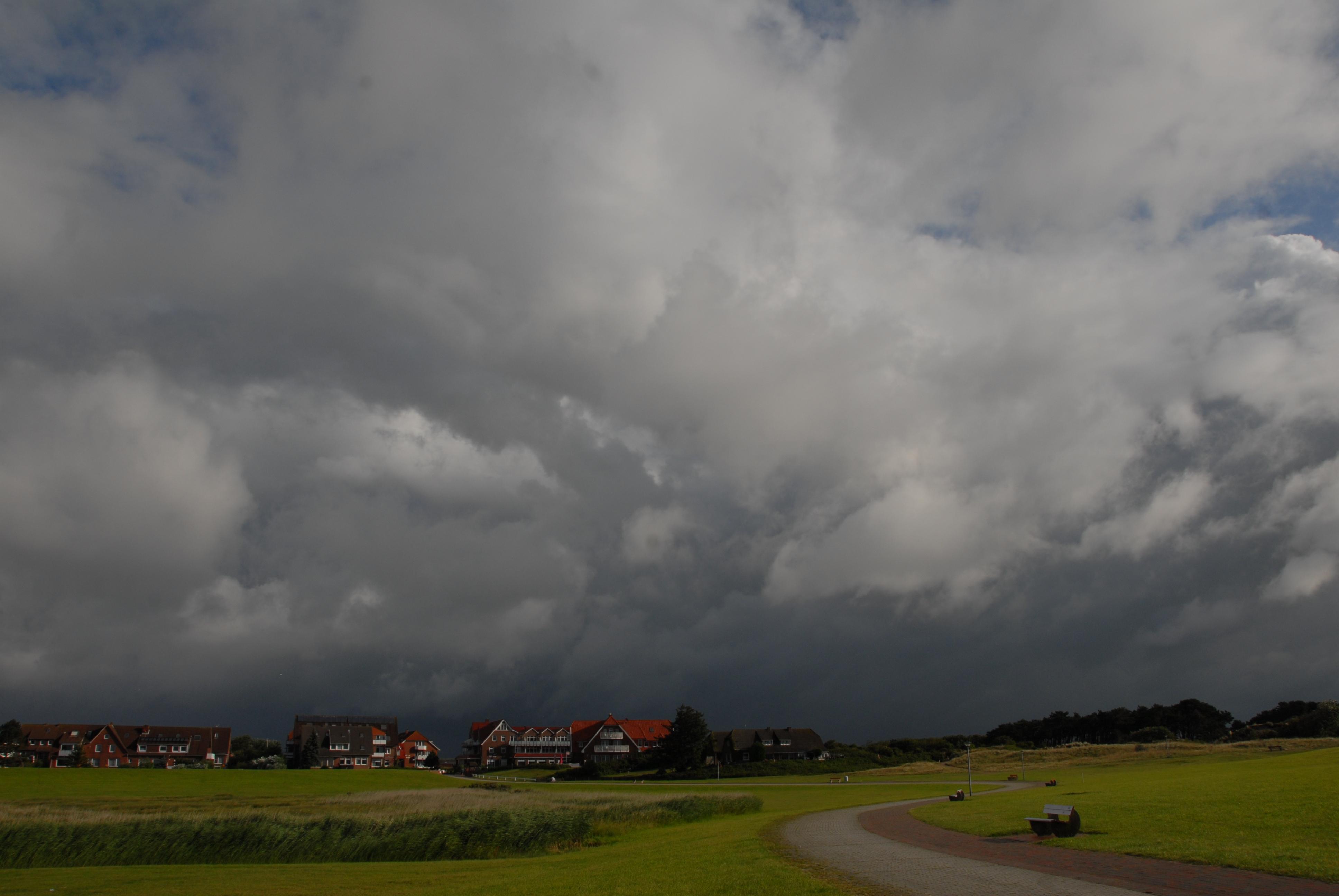 Wolkenbilder im Wind
