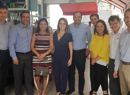 EVENET organiza un desayuno de trabajo en Perú