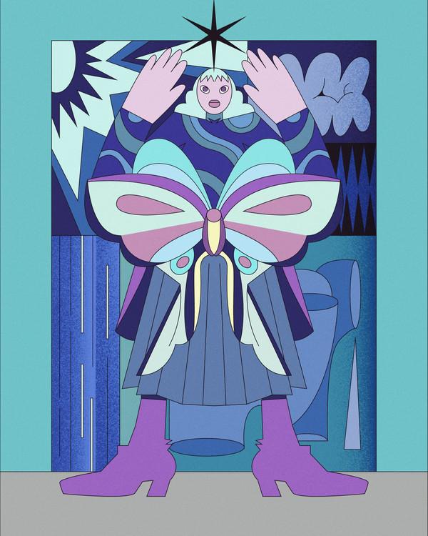 moth girl