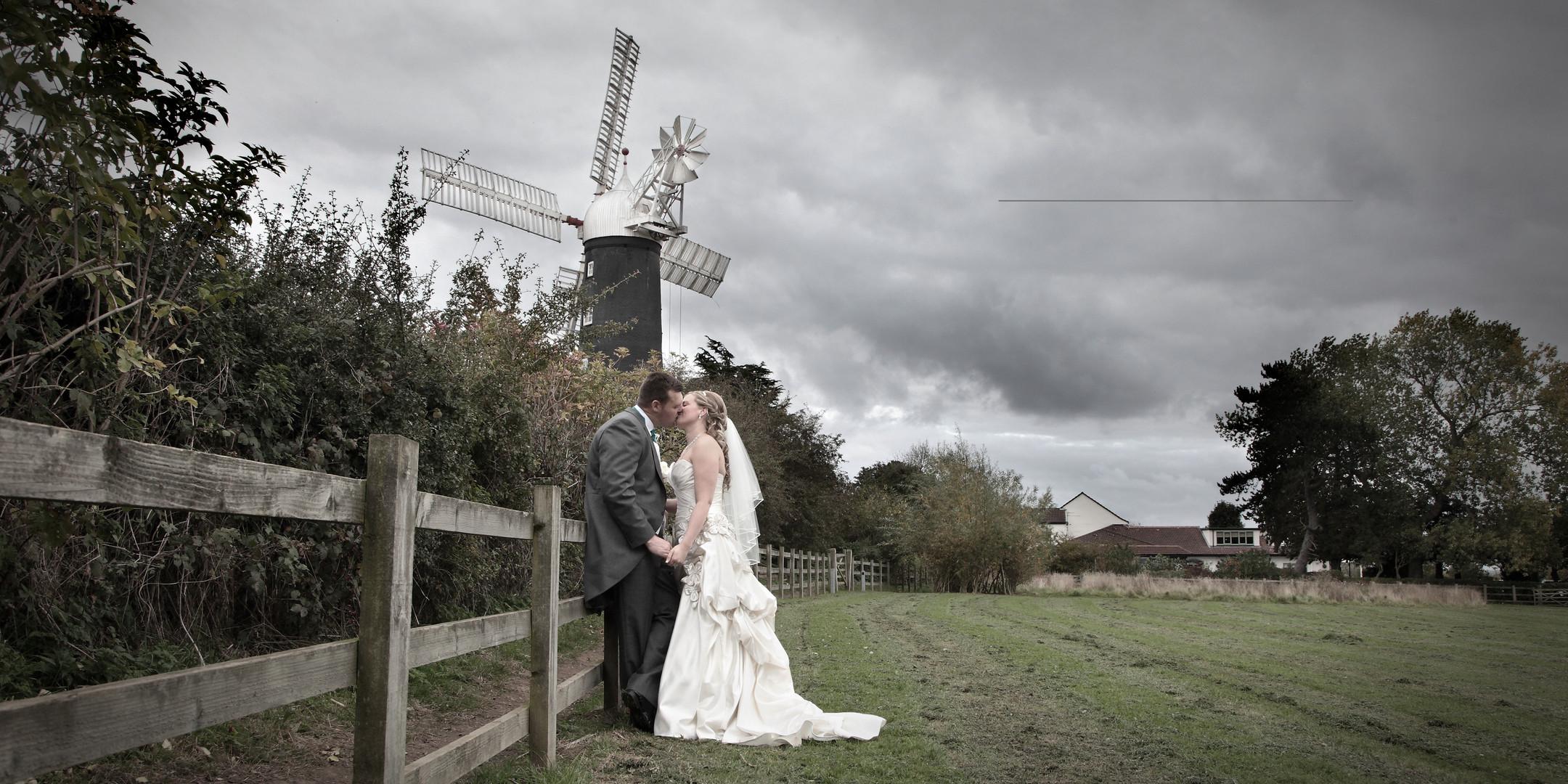 Wedding at Skidby Mill