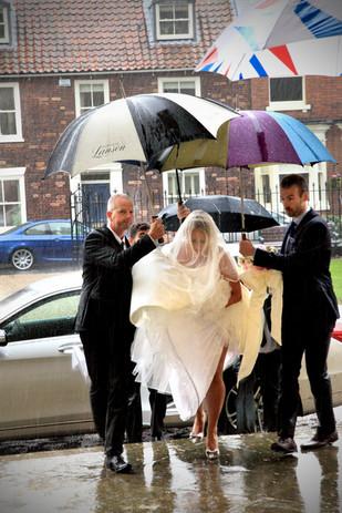 Bride at Beverley Minster