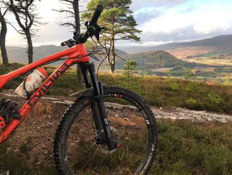 First Ride Review - DT Swiss F535 FORK