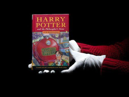 First edition Harry Potter and the Philosopher's Stone sells for £85,000