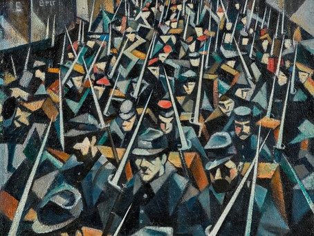 CRW Nevinson painting sells for £1.55m