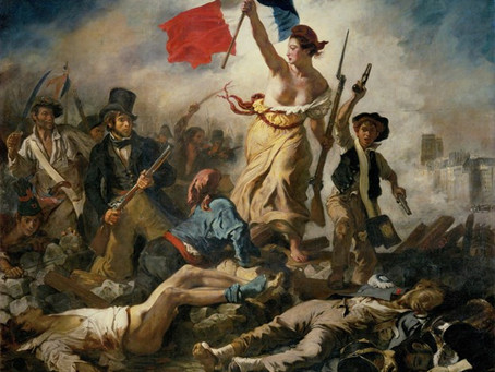 Eugene Delacroix's sketch for 'Liberty Leading the People' breaks record