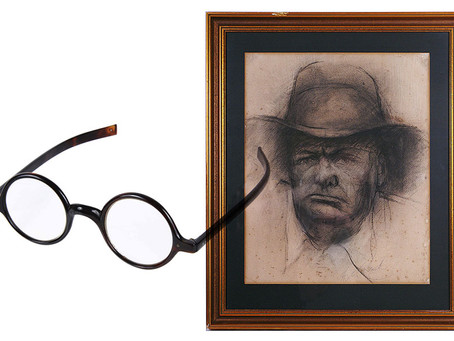 Sir Winston Churchill's spectacles come up for auction