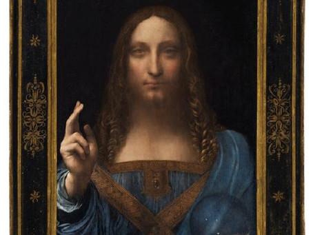Leonardo Da Vinci painting breaks world auction record at $450m