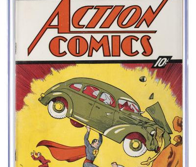 Superman's first appearance up for auction