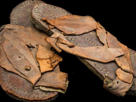 Lawrence of Arabia's sandals discovered in carrier bag head to auction