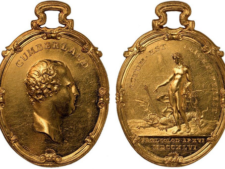 Battle of Culloden commemorative gold medal expected to make £100,000