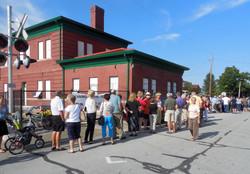 Dining at the Depot 2014