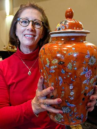 Oriental Vase_New_Bern_Antique_Show_2016