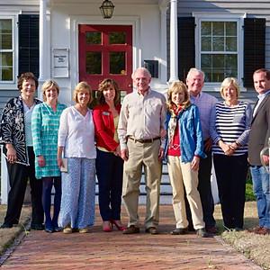Realtors Visit Palmer-Tisdale House