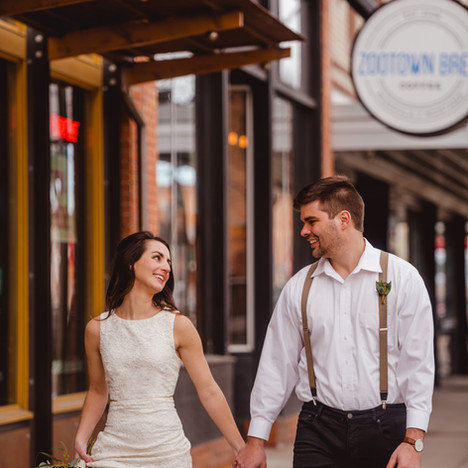 Urban Montana Wedding