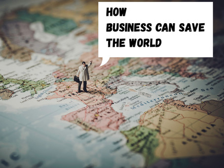 How Business Can Save the World